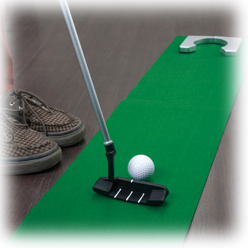 Mini golf putter for Juego de golf para oficina