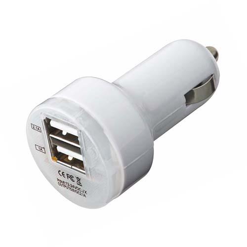 CARGADOR DE USB CON DOS CONEXIONES TOKIO