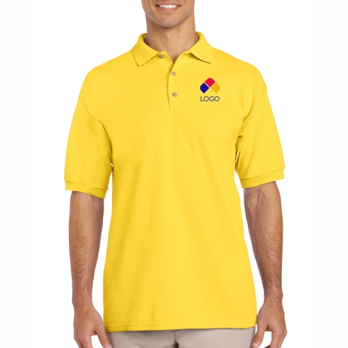 PLAYERA MARCA GILDAN DEPORTIVA POLO PIQUE 6.3 OZ COLOR (2XL)