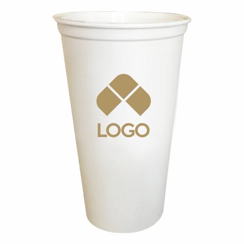 VASO DE PLASTICO REUSABLE PARA CAFE CON CAPACIDAD 473 ml (16 Oz)